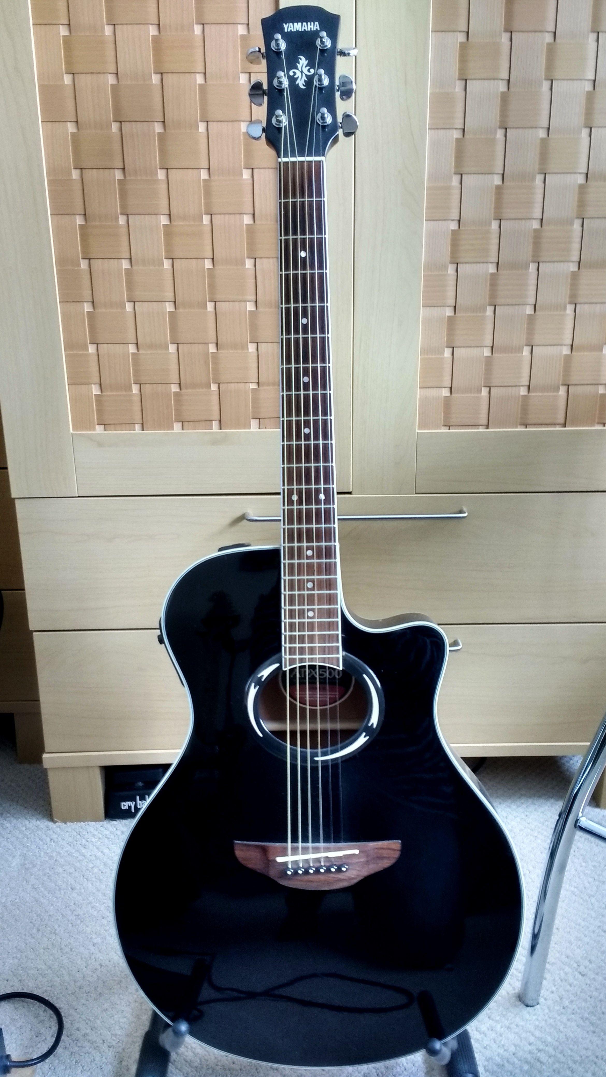 Yamaha Apx500 Yamaha Guitar Guitar Learn Guitar