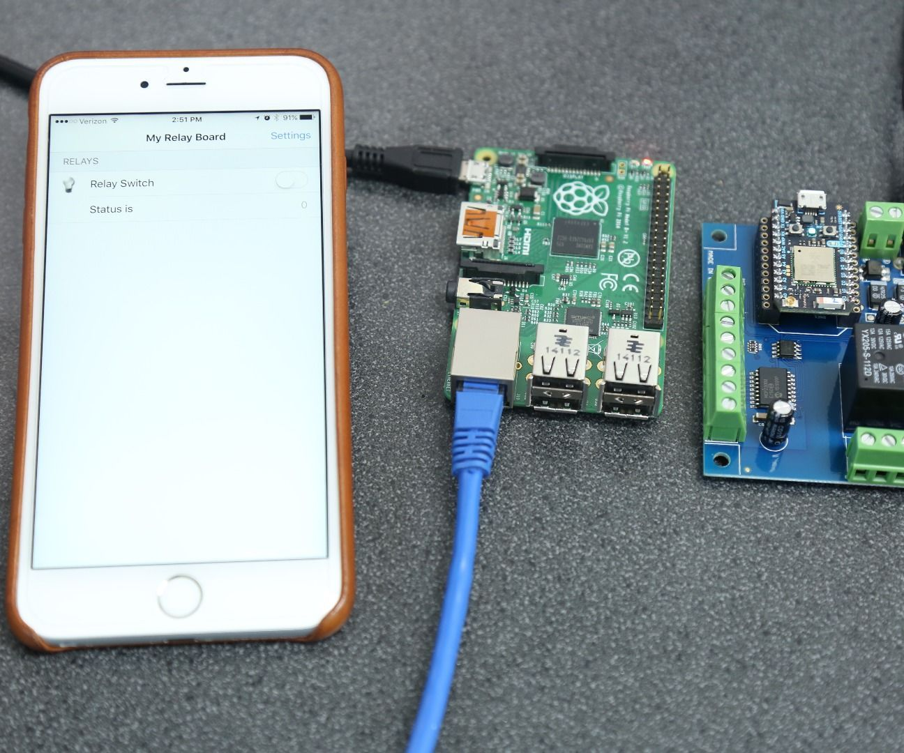 OpenHab on Pi Controlling Particle Photon Relay | Tech | Home