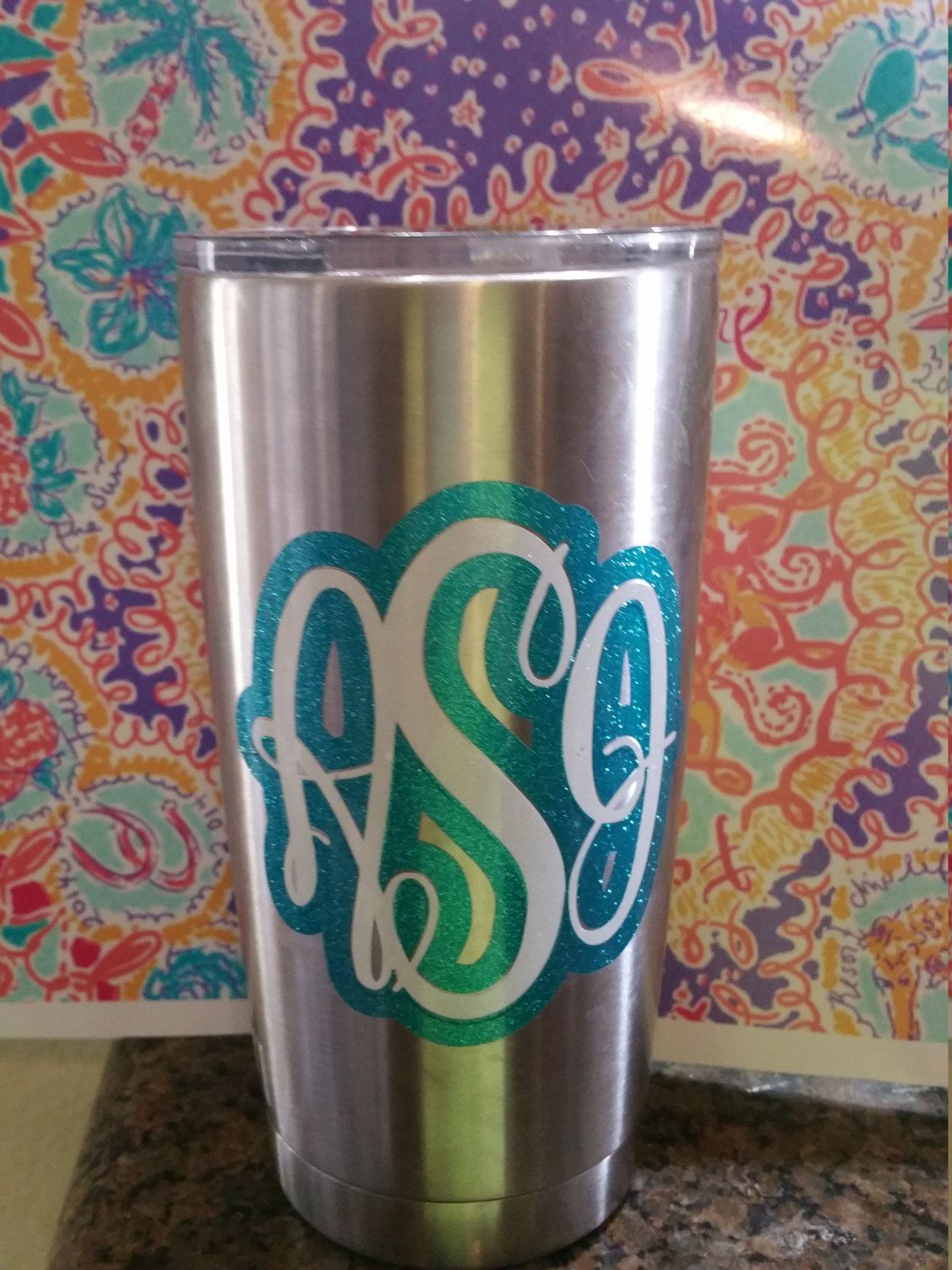 Yeti Cup Monograms Names logos - pinned by pin4etsy.com