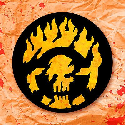 Mad max immortan joe brand symbol sticker laptop decal fury road