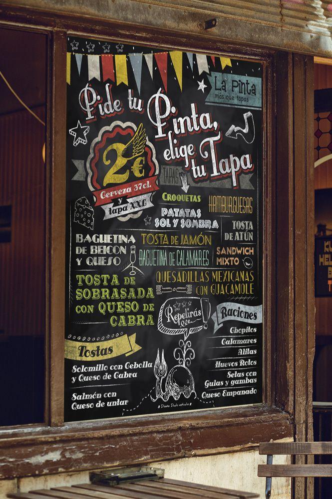 Blackboard mockup xxl pizarrones - Pizarras de bar ...