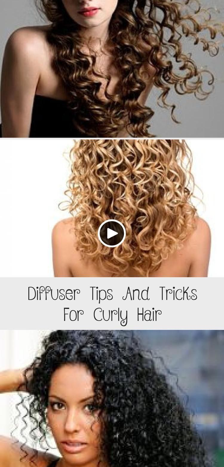 Diffuser Tips And Tricks For Curly Hair Curly Hair Styles Wavy Hairstyles Tutorial Hair Care Frizzy