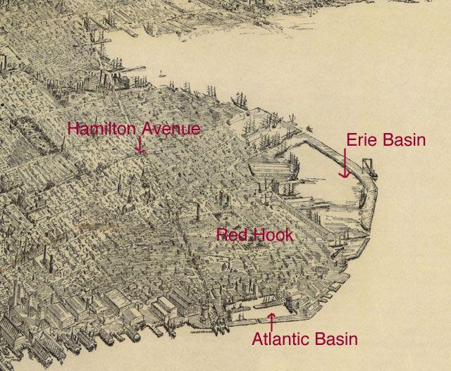 red hook brooklyn map Red Hook Brooklyn 1950s Google Search Brooklyn Red Hook red hook brooklyn map