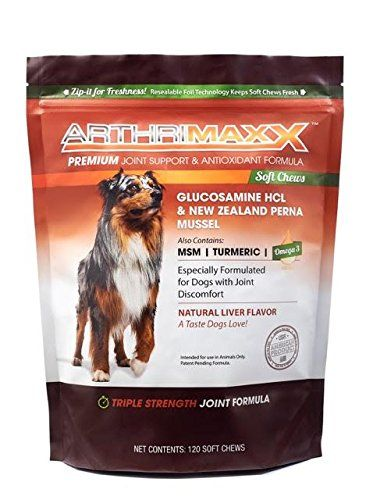 Arthrimaxx Soft Chew Joint Protection Supplement For Dogs 120