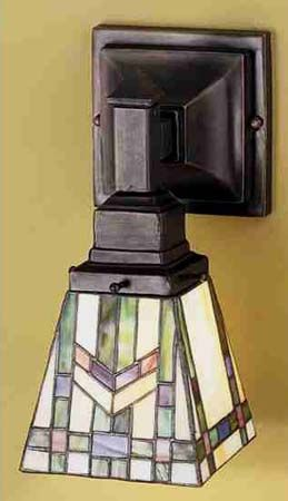 Meyda Tiffany 25894S Mission Wheat Switched Sconce