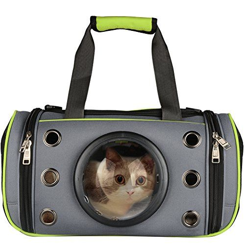cb62eb2b01 Innovative Pet Carrier PetLoft Deluxe Soft Sided Top Side Loading Foldable Pet  Travel Carrier for Cats