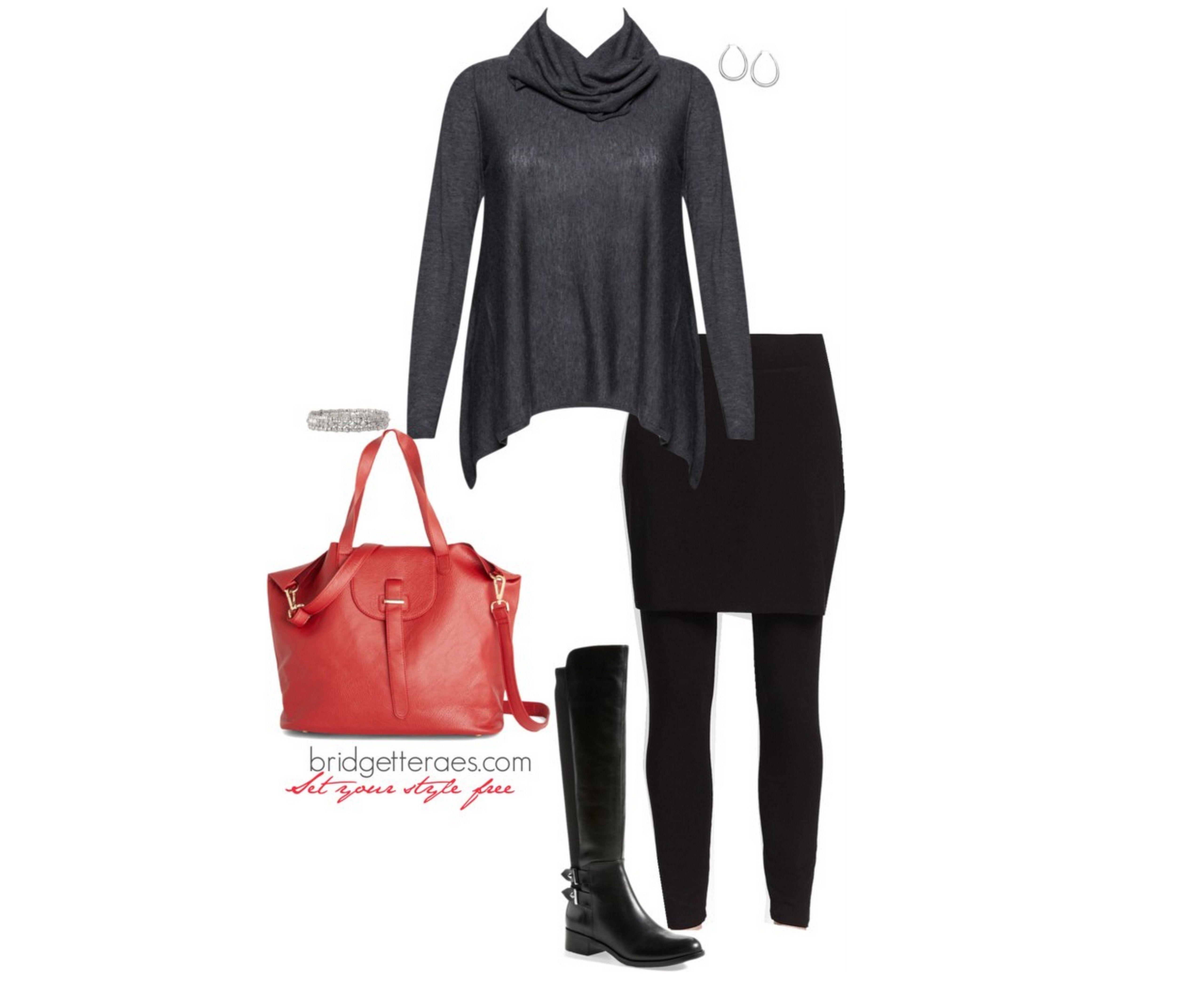 aa3d1888225106 How to Wear Skeggings (Skirted Leggings) - Bridgette Raes Style Expert