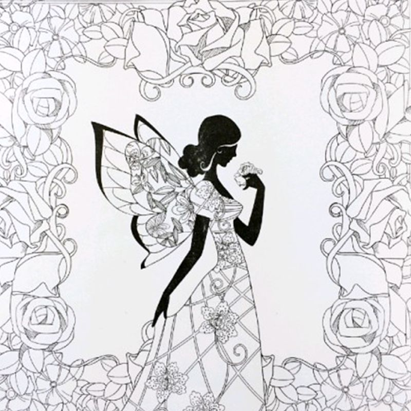 Fairy Tales And Magical Dreams Coloring Books For Adults