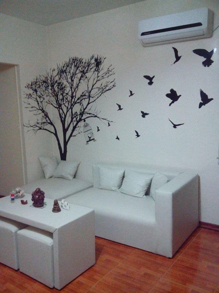 17 b sta id er om vinilos arboles p pinterest vinilos for Vinilo decorativo para habitacion