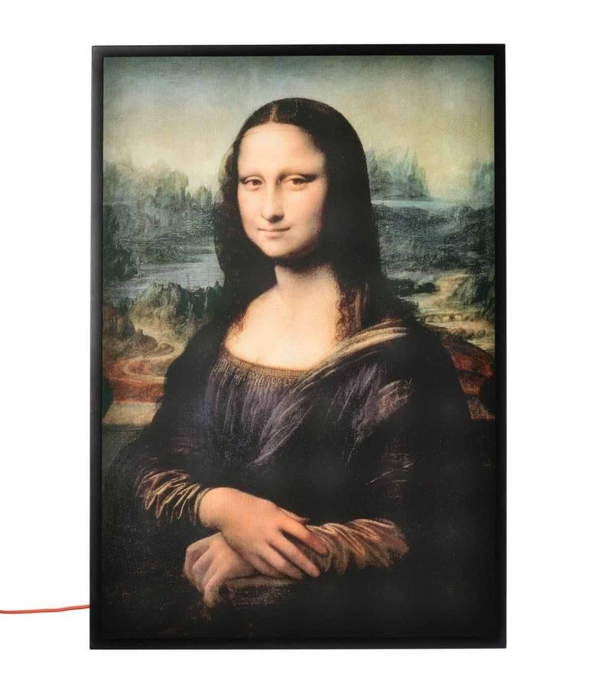 Ikea X Off White Backlit Artwork Mona L On Mercari Pinturas Renacentistas Renacentismo Pinturas