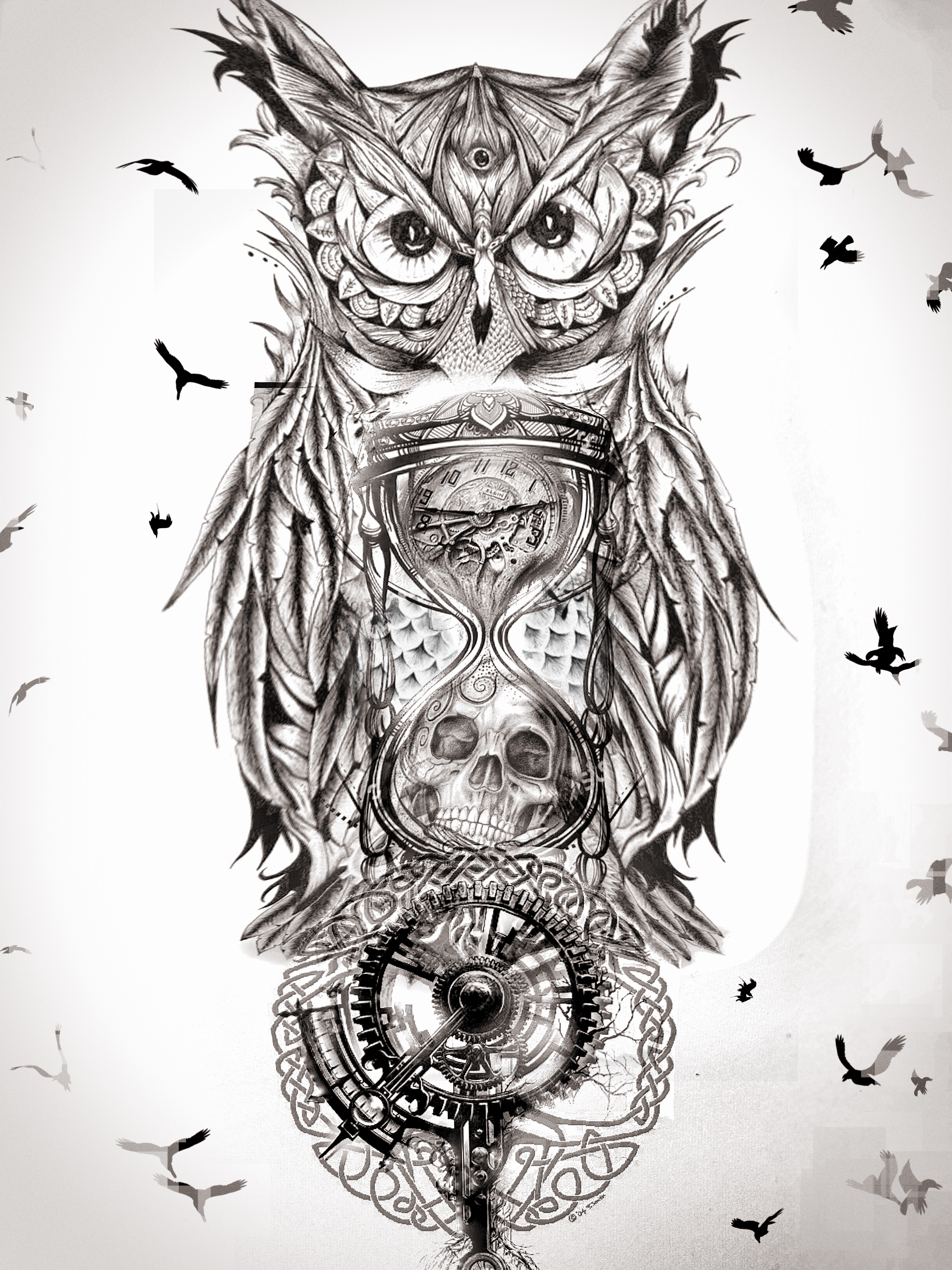 последние фото фото эскизов и тату совы с фонариком очень вкусно том