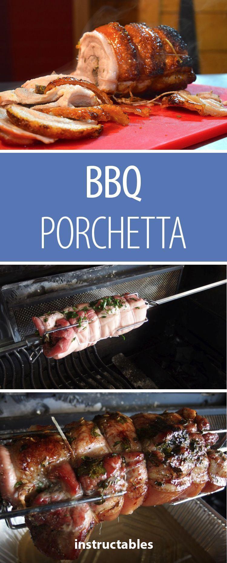 Bbq Porchetta Pinterest Hams Pork And Tasty