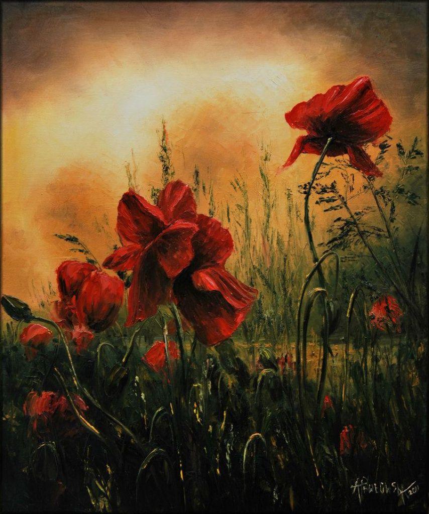 Alicja Pavlovsk Poppies Pinterest Paintings And Digital Art