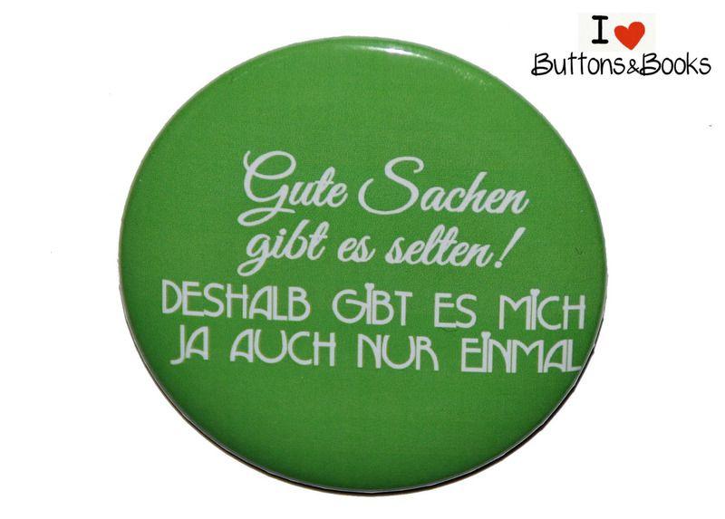 Männer Button-groß-50mm-Anstecker-Pin-Spruch