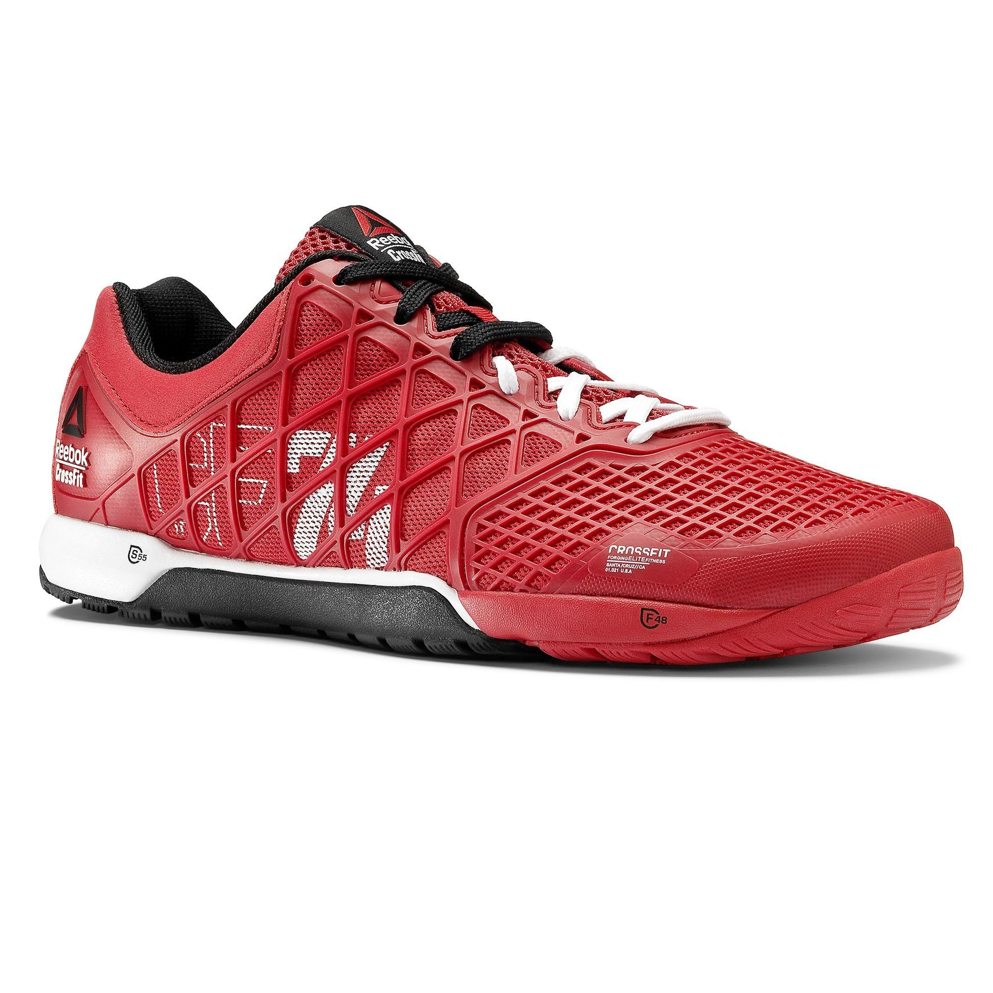 My shoes for Reebok Crossfit Nano Mens Training Shoe Excellent Red -White-Black