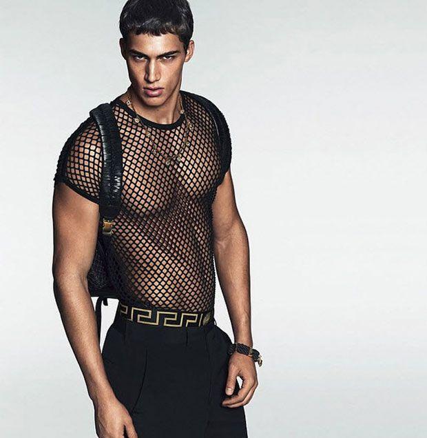 First look of versace men 39 s spring summer 2015 kerle for Dujardin herin