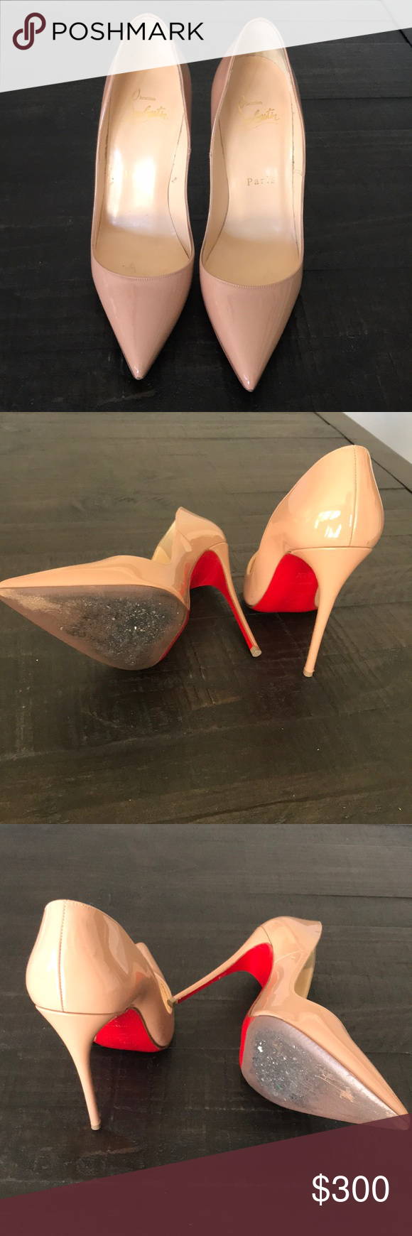 45cfac14ed0 heels refurbished red bottom from nordstrom rack Christian Louboutin ...