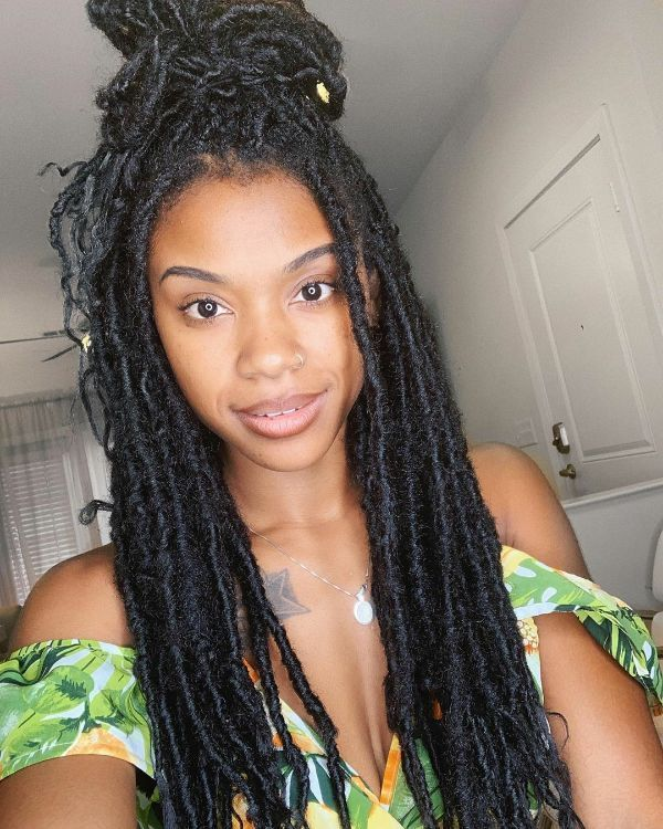 Faux Locs: 24 gallant Locs hair Ideas for Black Women - Curly Craze