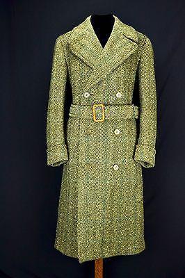 1940's Heavy Tweed Ulster Coat 40