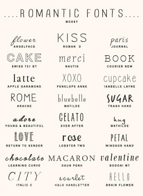 Download imjaeboms:imjaeboms' font pack #225 romantic style fonts ...