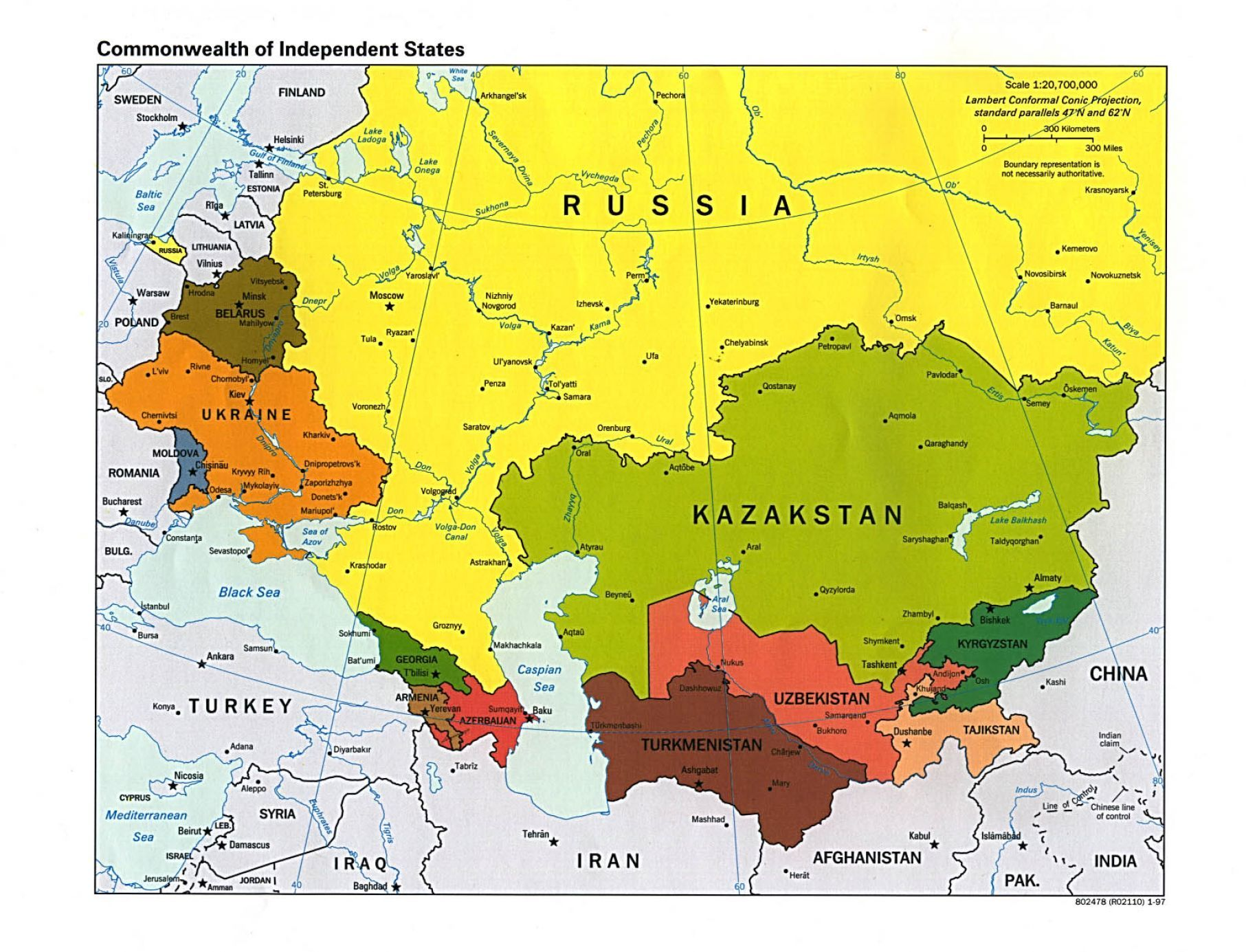 map of Russia | Political map of russia and surrounding pictures 4 ...