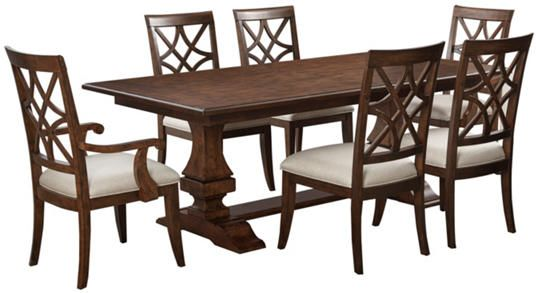 Trisha Yearwood Dining Table  Art Van Furniture  Furniture Delectable Klaussner Dining Room Furniture Inspiration Design