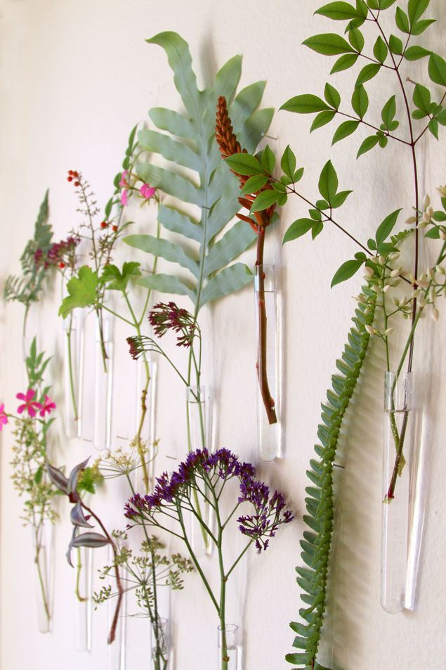 Diy Easy Hanging Wall Vases Pinterest Fun Diy Walls And Easy