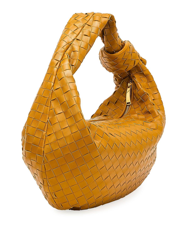 BOTTEGA VENETA JODIE NAPA INTRECCIATO SMALL HOBO BAG bags bags