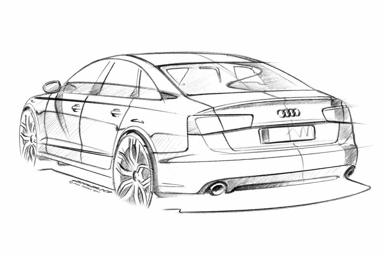 Audi A6 Design Sketch Car Body Design Car Design Sketch Audi Cars Audi A6