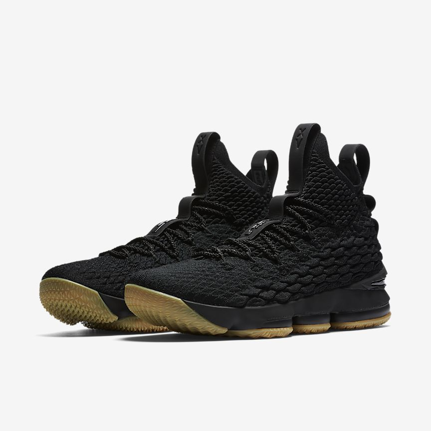 LEBRON 15 BlackGum Light BrownBlack | Zapatillas de