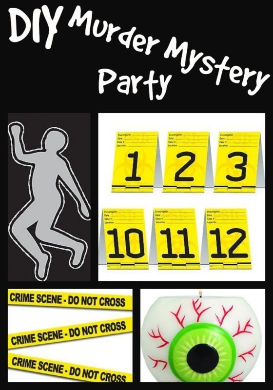Murder Mystery Dinner Party Ideas Part - 27: DIY Murder Mystery Party Ideas For Kids U0026 Adults - This One Has A More  Educational