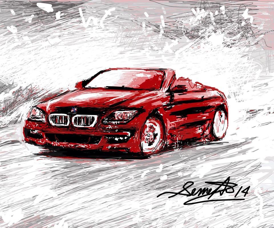 My iPad Painting. BMW