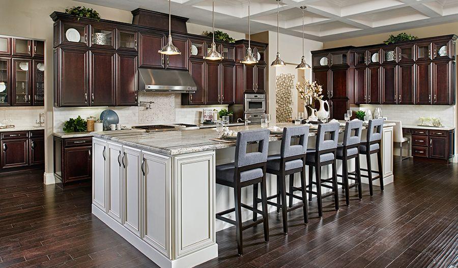 Robert Lv Montebello Kitchen Onyx Point Richmond American Homes Las Vegas Nv Now Selling A Ga Richmond American Homes Log Home Kitchens Home Kitchens