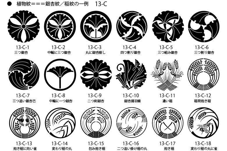 あの家紋 家と同じ家紋だ 先祖が同じかも 家紋 稲 絵のデザイン