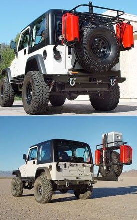 Beautiful 1987 1995 Jeep YJ Xpedition Series Bumper/Tire Carrier