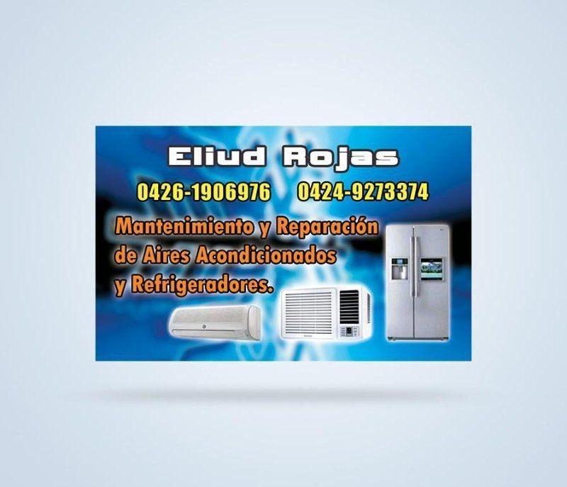 Tarjeta de Presentación Profesional en Refrigeración y Aires ...
