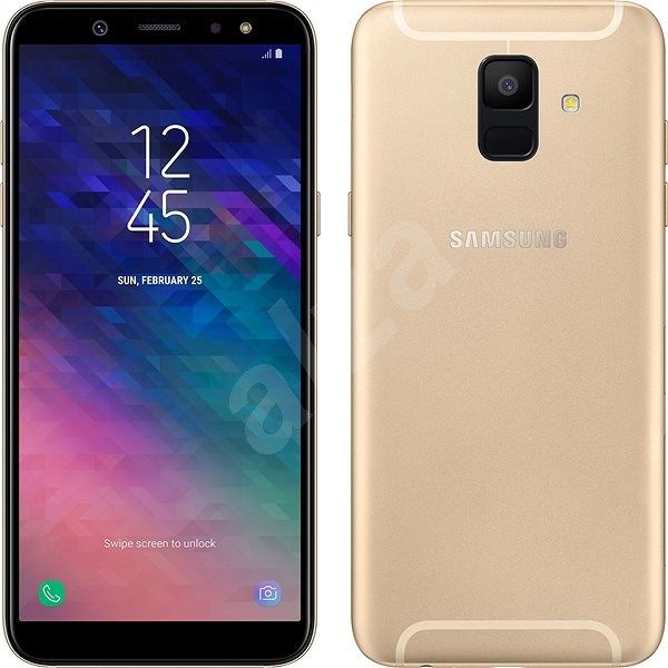 Buy Samsung Galaxy A6 Gold Online In India Samsung Galaxy Galaxy Samsung
