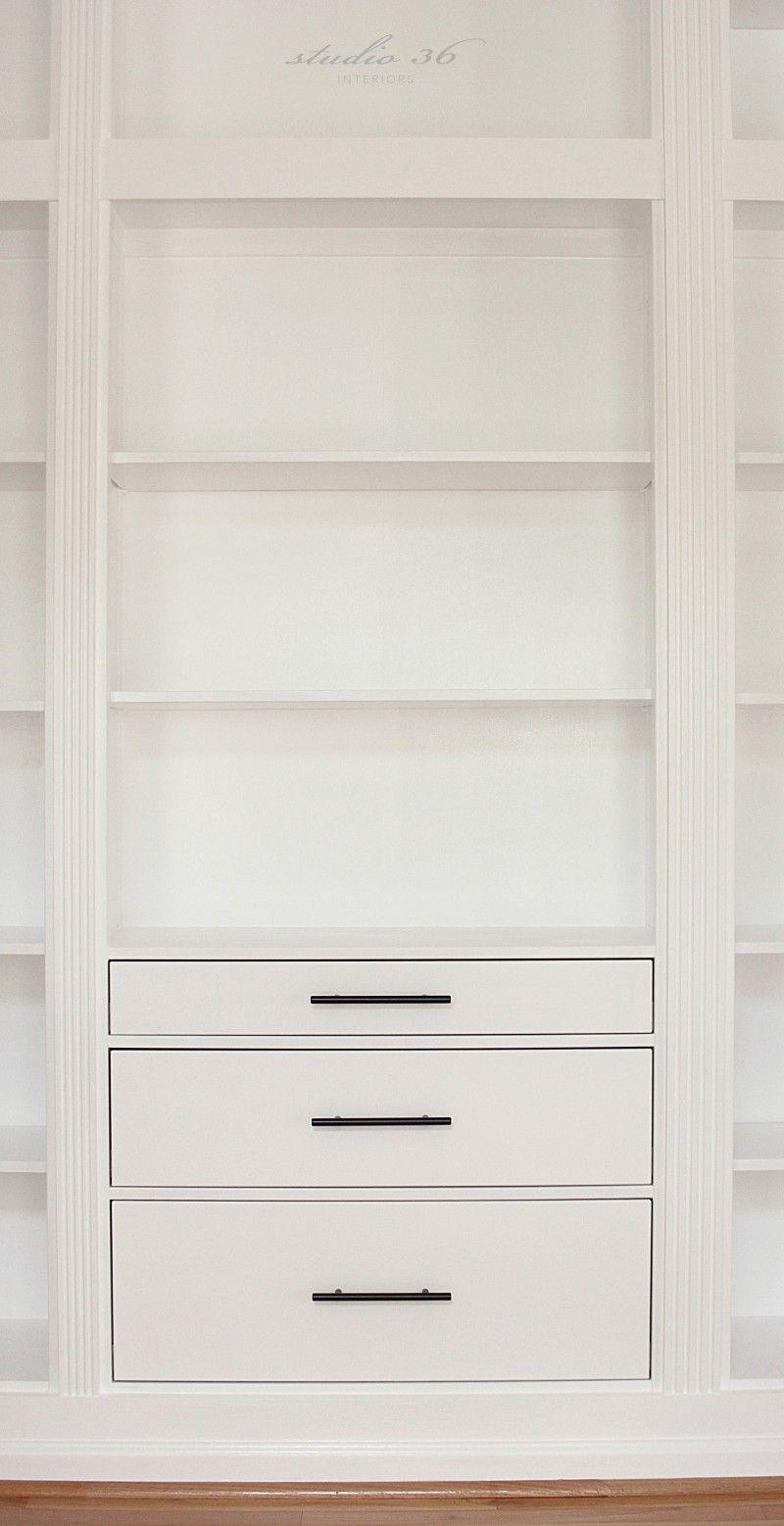 DIY BUILTIN BOOKCASE REVEAL (AN IKEA HACK) Ikea closet