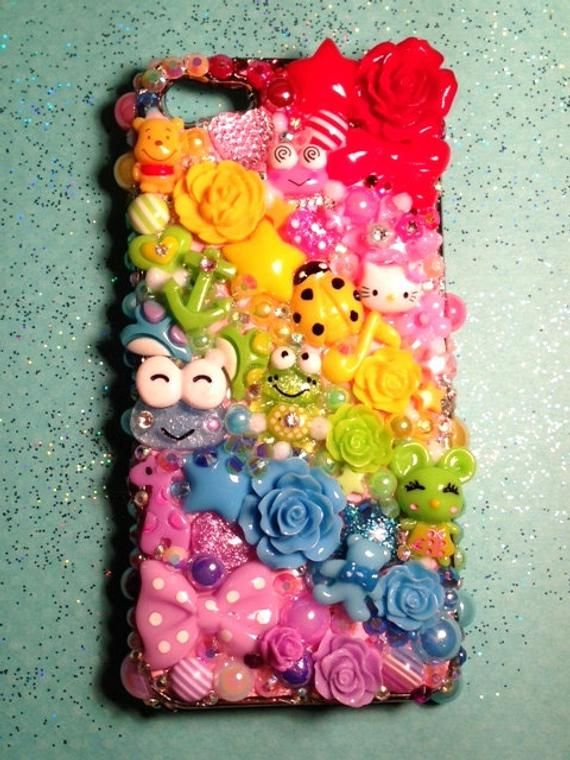 Custom Kawaii Decoden Case for Cell Phone iPhone 11 Pro