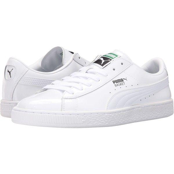 d65da4409917 PUMA Basket Matte Shine (White White) Men s Lace up casual Shoes ( 50