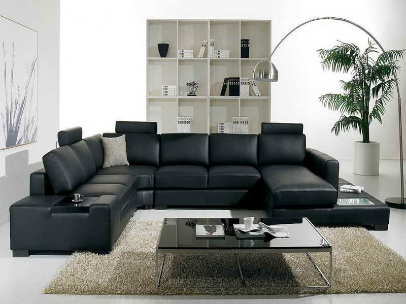 Paint Color Schemes For Living Room With Black Leather