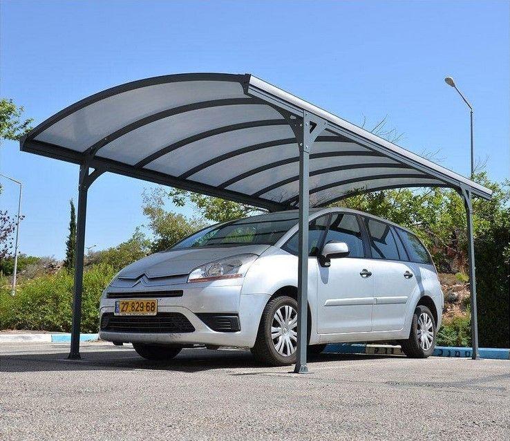 Carport aluminium Vanga 14,47 m² pas cher Carport AUCHAN