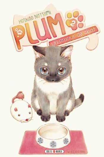 Couverture Plum, un amour de chat, tome 2