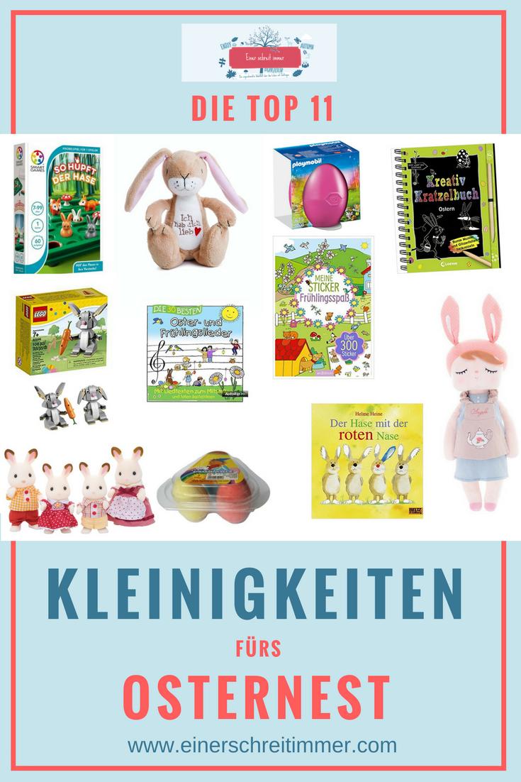 Die Top 11 Kleinigkeiten Fur Das Osternest Mamablog Einer Schreit Immer Ostern Ostern Kinder Geschenke Fur Kinder