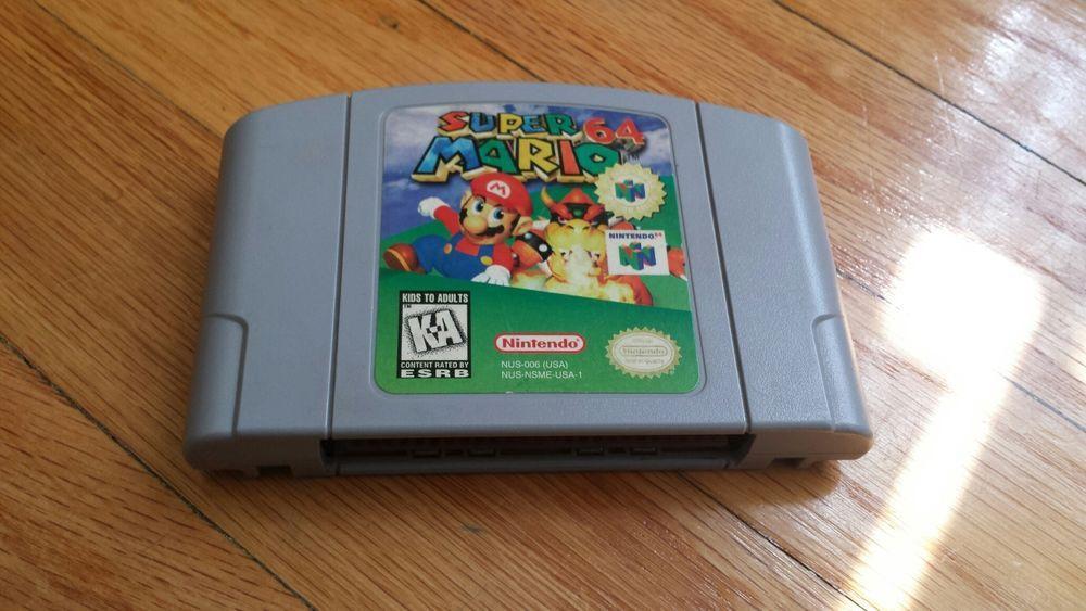 Super Mario 64 (Nintendo 64, 1996) | Gaming | Super mario