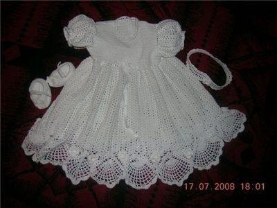 Baptismal Dresschristening Gown Free Crochet Master Class Tutorial