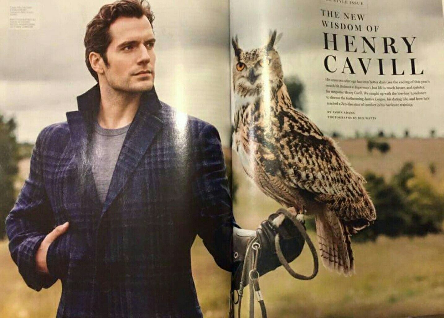 a1b02afd4c2 First look  Henry Cavill covers September issue of Men s Fitness ...