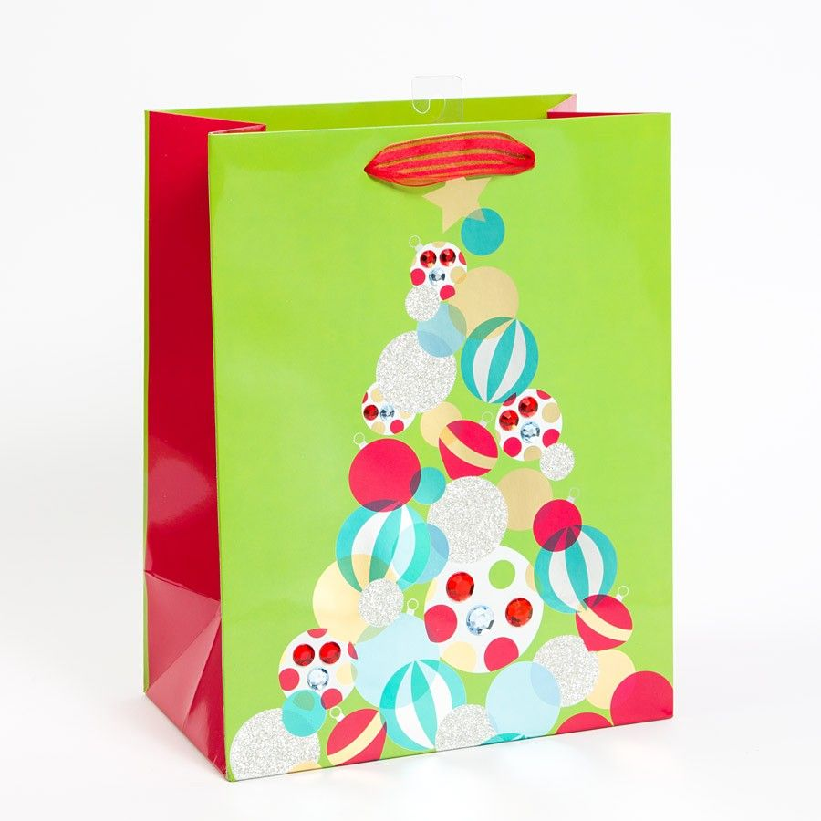 bright baubles large gift bag - Large Christmas Gift Bags