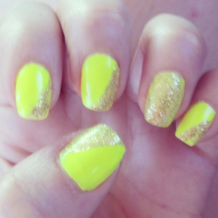Neon nails, summer nails   Likes   Pinterest