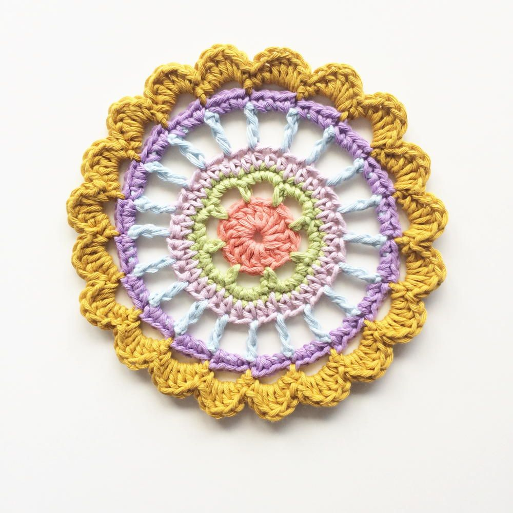 Pretty polly mandala free pattern free crochet doily patterns pretty polly mandala crochet mandalacrochet motiffree crochet doily patternschevron bankloansurffo Gallery